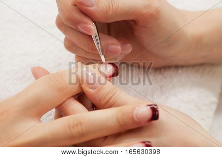 Manicure Treatment - Painting Fingernails