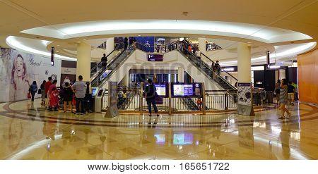 Interior Of Suria Klcc In Kl, Malaysia
