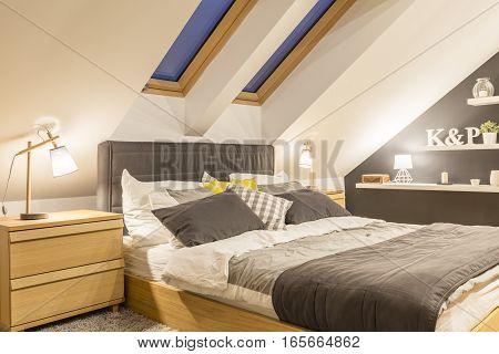 Modernly Designed Bedroom