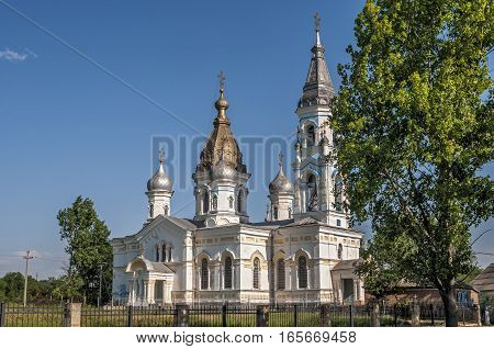 Russia , Starocherkassk , the first capital of the Don Cossacks . Branch Resurrection Cathedral , built in 1706 , with the participation of Tsar Peter the Great.