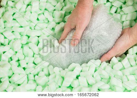 Bubblewrap Parcel