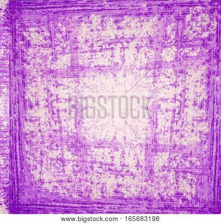Lilac grunge paint background. Abstract purple background