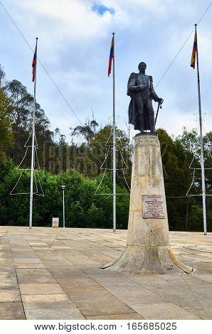 Monument To Francisco De Paula Santander