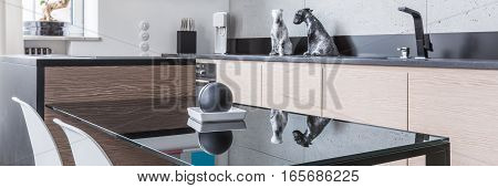 Black Kitchen Table