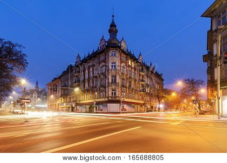 Beautiful house in central part of Gliwice Poland Europe.