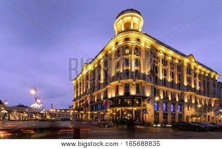 Beautiful house in central part of Warsaw Poland Europe.