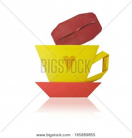Origami Cup Of Coffee