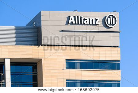 Allianz Corporate Building And Logo