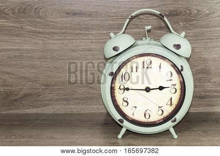alarm clock retro and vintage classic design