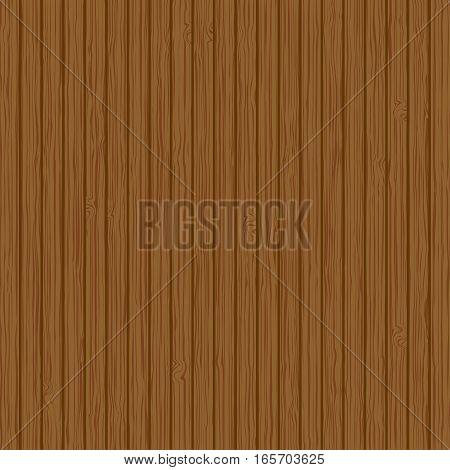 Wood texture background. Vector wood plank texture, dark pattern illustration