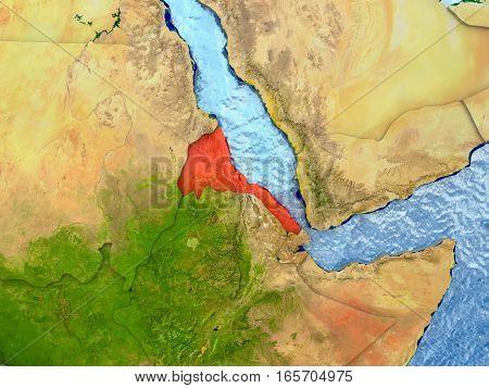 Eritrea In Red