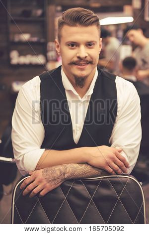 Attractive Stylish Barber