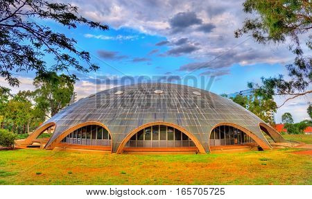 The Shine Dome, the headquarters of the Australian Academy of Science in Canberra. Built in 1959