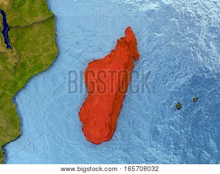 Madagascar In Red