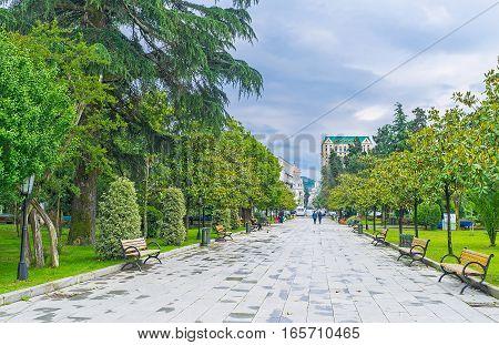 In Batumi Boulevard