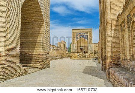The Memorial Mosque In Chor-bakr Complex