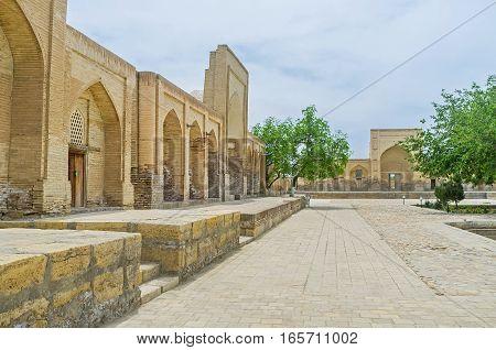 Visiting The Necropolis In Bukhara