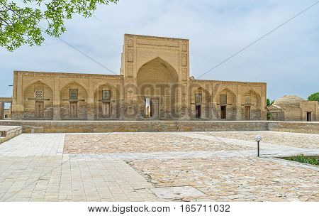 The Burial Complex In Bukhara