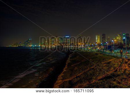 The Night Beach