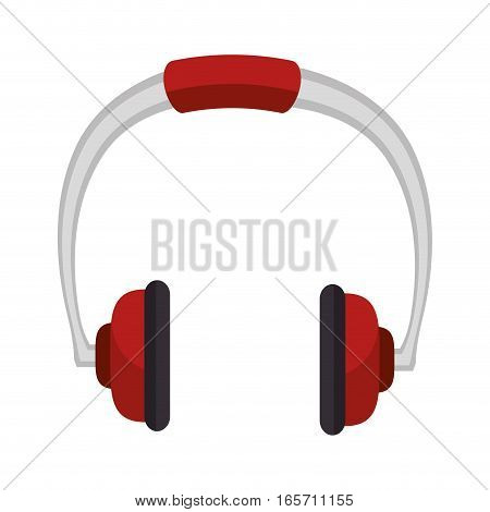 headphone device isolated icon vector illustration design