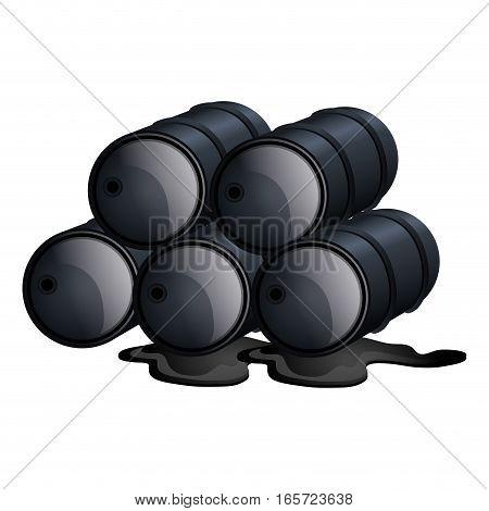 oil tank container icon vector illustration design