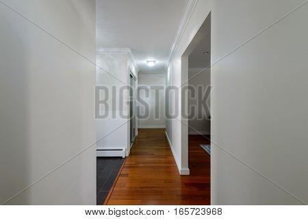 Entrance hall of a house. Interior design.