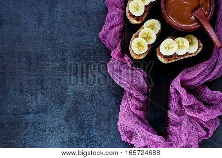 Chocolate Spread Sandwiches