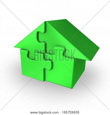 3D Home As Puzzle