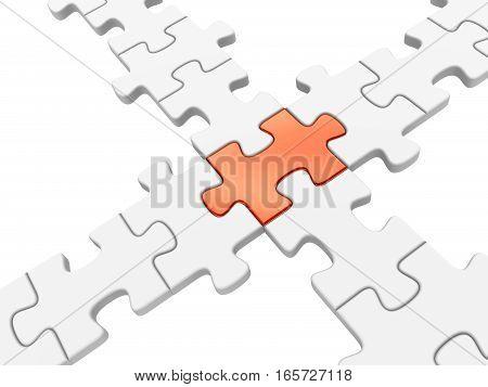 3D Puzzle Crossroad