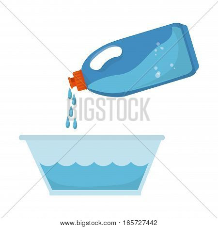 laundry service set icons vector illustration design