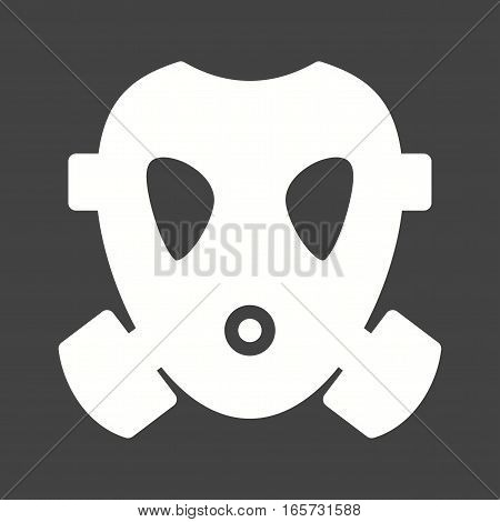 Oxygen, mask, firefighter icon vector image. Can also be used for firefighting.