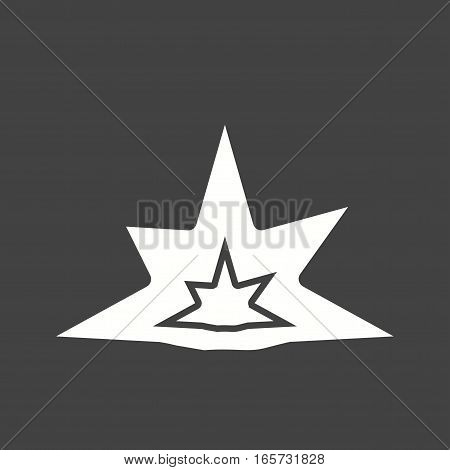 Explosion, bomb, weapon icon vector image. Can also be used for firefighting.