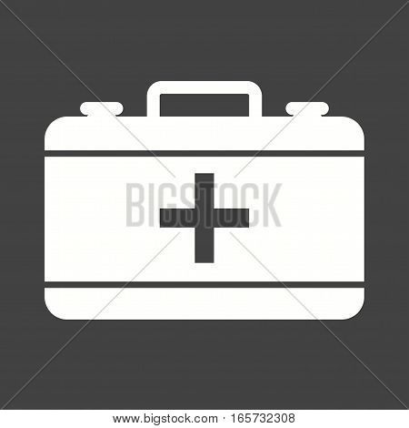First, emergency, aid icon vector image. Can also be used for firefighting.