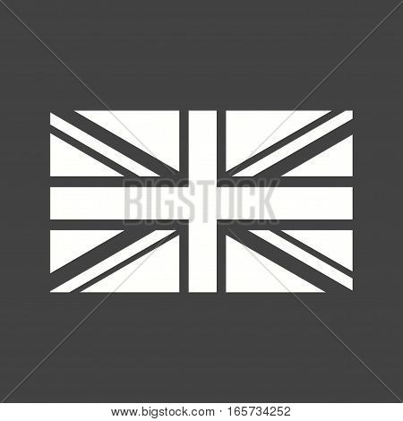 United Kingdom, flag, national icon vector image. Can also be used for flags.
