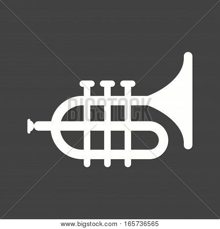 Tuba, saxophone, music icon vector image. Can also be used for oktoberfest.
