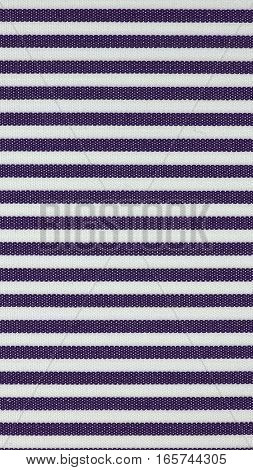 Violet Striped Fabric Texture Background - Vertical