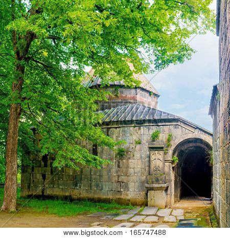 The Shade Of Monastery Garden