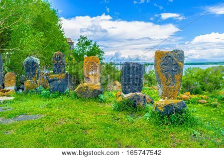 The Khachkars On Old Cemetery