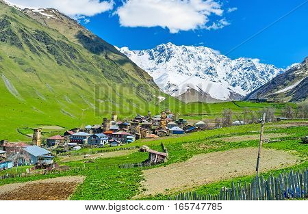 The Village Among The Mountains