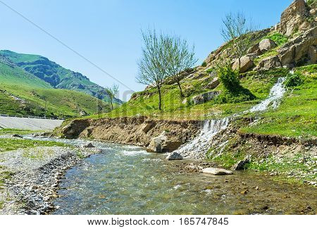 The Stream Meets The River