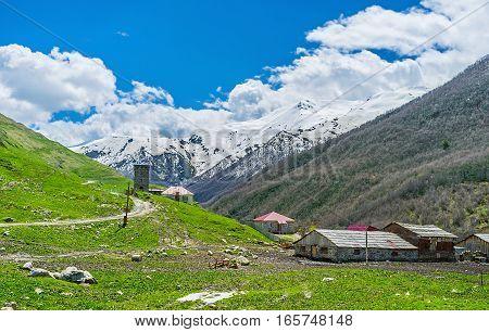 The Landscape Of Ushguli