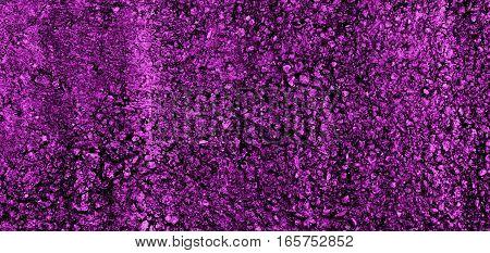 Concrete, concrete wall, concrete background, concrete texture. Grainy concrete, rough concrete texture. Colored concrete. Purple concrete. Concrete