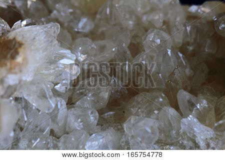 White Rock-crystal Background