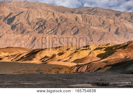 Desert Sunrise. Death Valley National Park, California, USA.