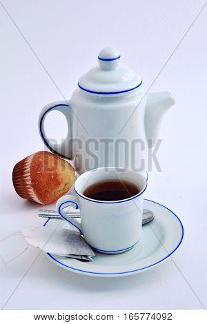 Sweet Breakfast. Light Breakfast to keep the line