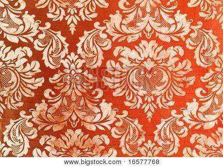 Floral vintage wallpaper background