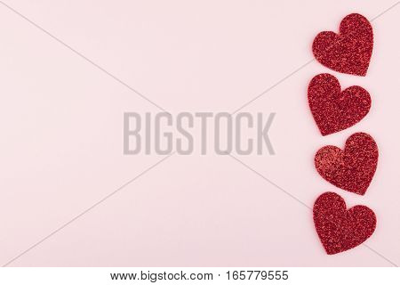 Big Red Heart Border