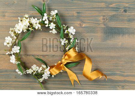 Spring Flowers  Wreath.