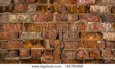 Brickwork, brick, rough brick wall, brickwall, brick house, old brick wall