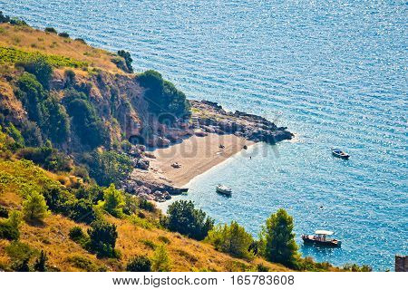 Idyllic Secret Beach On Brac Island